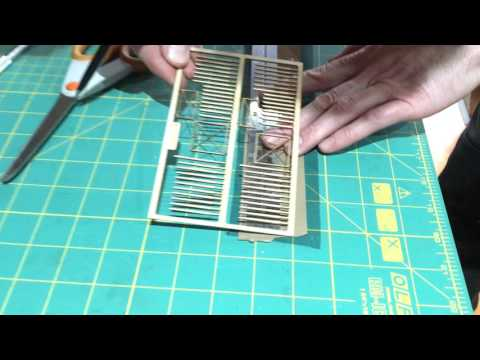 How To Cut Nylon Mesh For Chainlink Fencing For Model Railway Layouts & Railroads