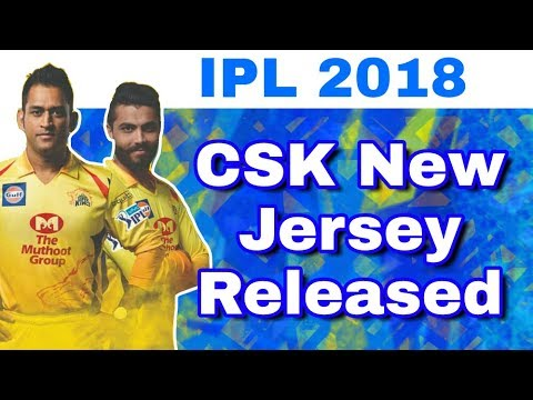 a01f67c39 IPL 2018 : CSK Jersey Changes | New Jersey Of Chennai Super Kings ...