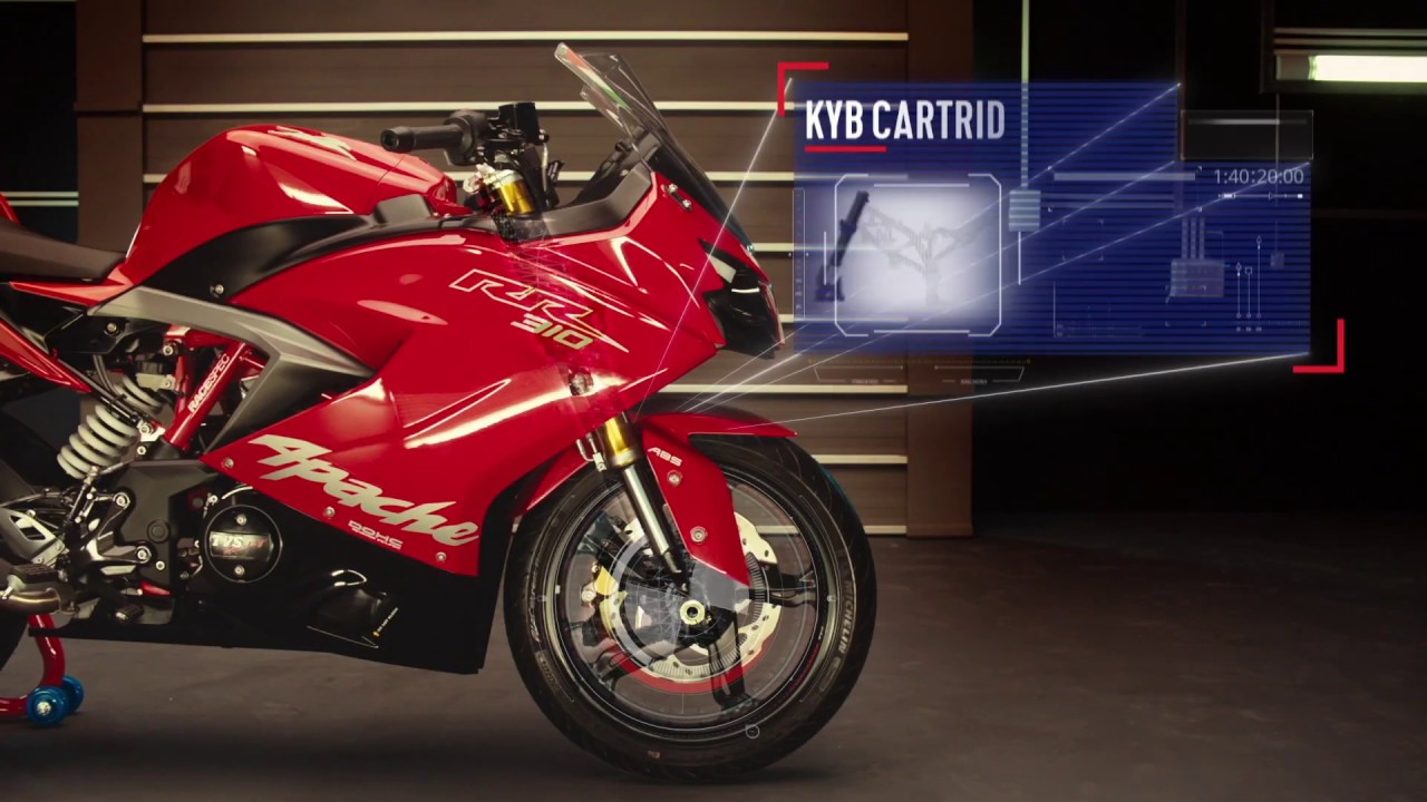 TVS Apache RR 310   Ultimate Track Weapon