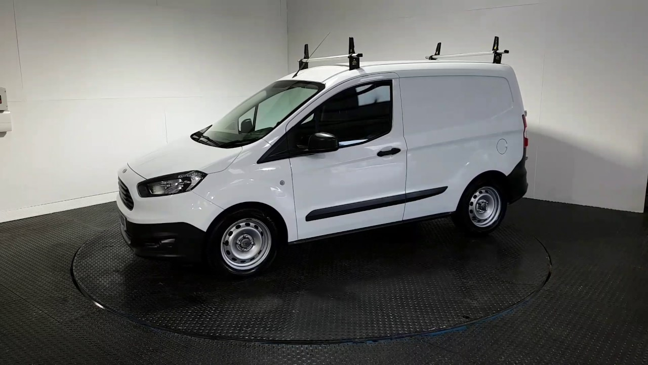 Ford Transit Courier 1 5 Base Tdci 1d 74 Bhp Ck64 Ndx Youtube