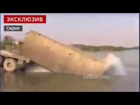 Syrian Forces Crossing The Euphrates - Deir Ezzor