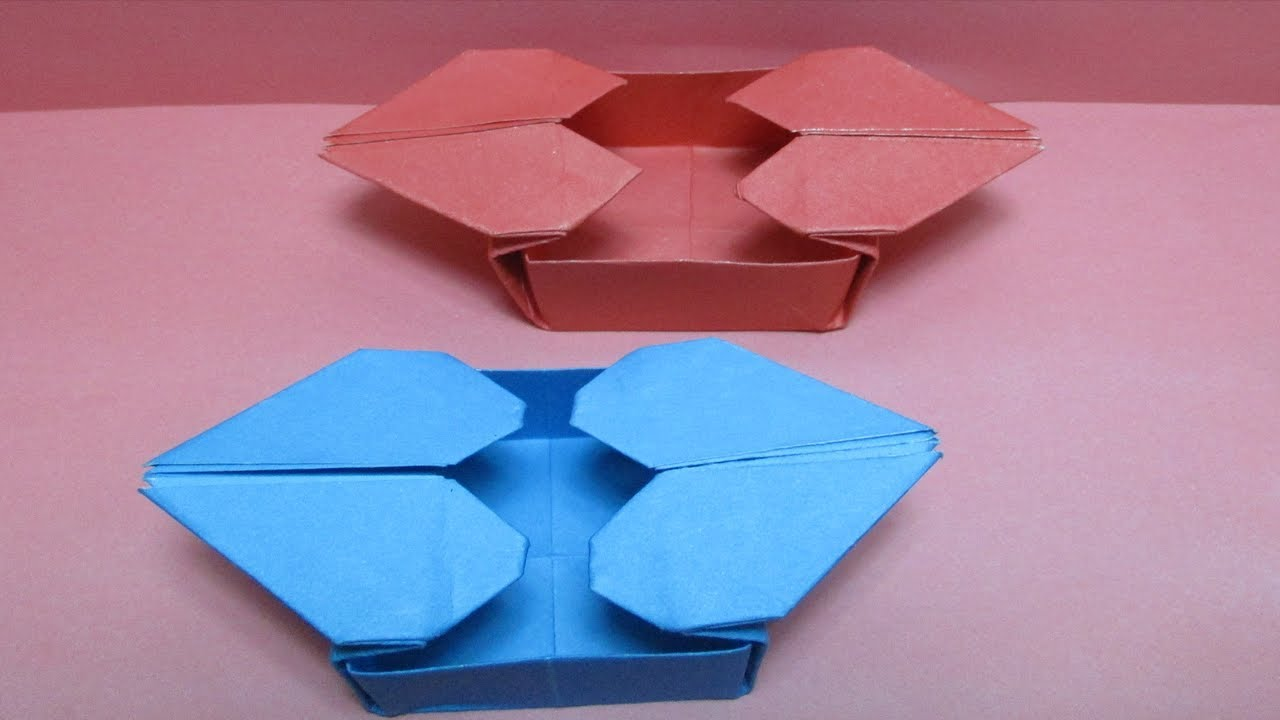 Heart Origami Box Instructions Tomoko Fuse Hexagon