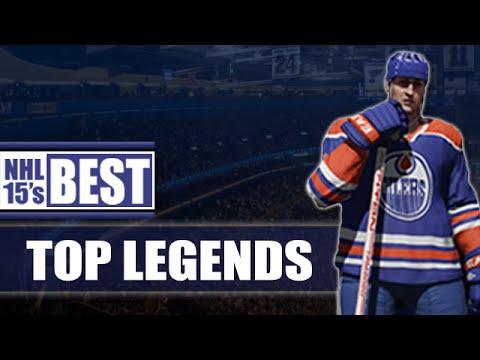 NHL 15's Best | Top Legends (Recap) - All reviewed Legends
