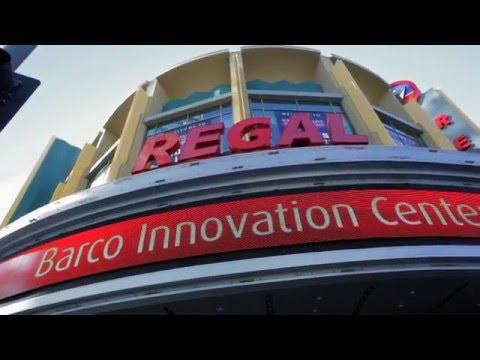 Regal L.A. LIVE: A Barco Innovation Center Press Launch
