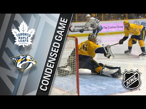 03/22/18 Condensed Game: Maple Leafs @ Predators