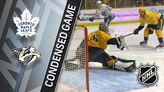 03/22/18 Condensed Game: Maple Leafs @ Predators