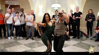 Luis and Weronika Bachata workshop at HSW by Dance Vida