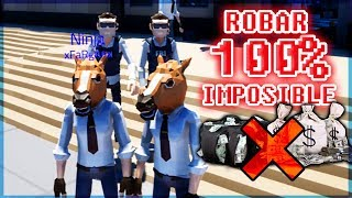 100% IMPOSIBLE ATRACAR - PERFECT HEIST CON ANGEL Y WILLY VS VEGETTA Y FARGAN