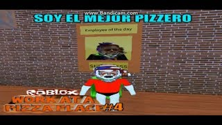Roblox l Work at a Pizza Place#4 Soy Mejor Pizzero