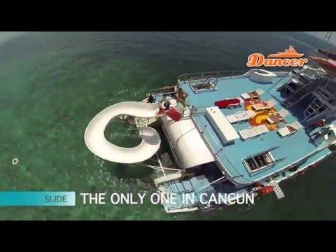 Catamaran to Isla Mujeres - Party Boat - Cancun Reef Snorkeling Tour