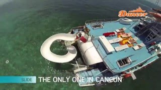 Catamaran to Isla Mujeres - Party Boat - Cancun Reef Snorkeling Tour