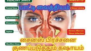 சைனஸ் பிரச்சனைக்கு எளிய பாட்டி வைத்தியம் | Sinus Treatment in Tamil | Healthy Lifestyle