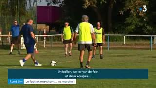 A Ebersheim, le foot se fait en marchant