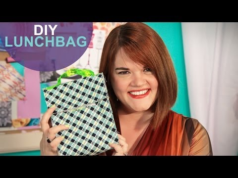 Vinyl Lunch Bag: The DIY Challenge on The Mom's View