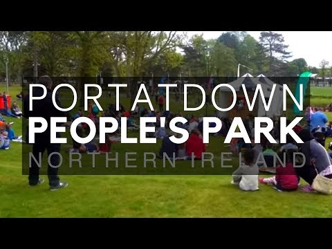 Portadown Town - Portadown People's Park, Fairytale Forest - County Armagh - Northern Ireland -  NI