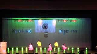 KB kids performance @ New England Tamil Sangam 2015