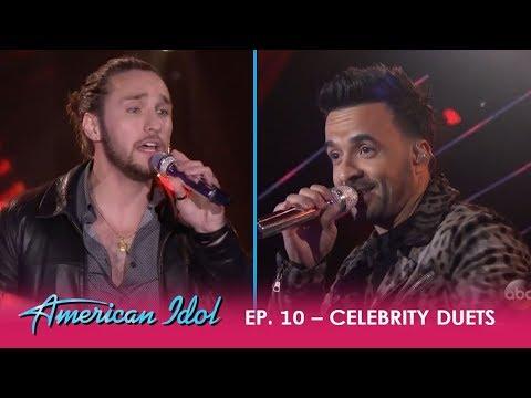 "Brandon Diaz & Luis Fonsi POP ""Despacito"" On The 'Idol' Stage!! | American Idol 2018"