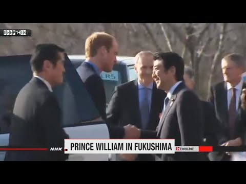 Nuclear Watch: Abe, Prince William visit Fukushima + N.Korea fires 2 ballistic missiles 2/3/2015