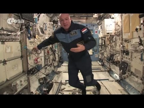 ESA astronaut André Kuipers' tour of the International Space Station