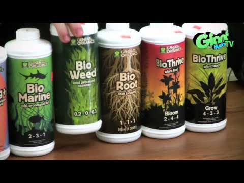 Product Spotlight - General Organics line of nutrient products
