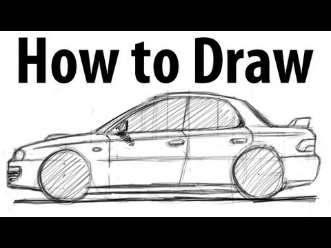 Watch on subaru wrx sti drawing