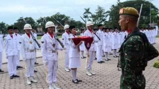 Pengibaran Bendera Deli Serdang 2014 (slide show)