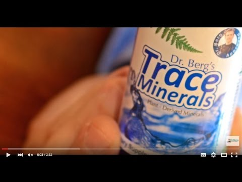 Dr. Berg Trace Minerals: and how to use it