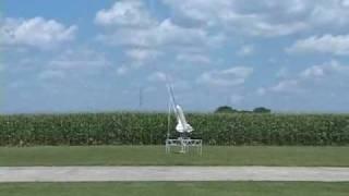 RC Model Space Shuttle Launch