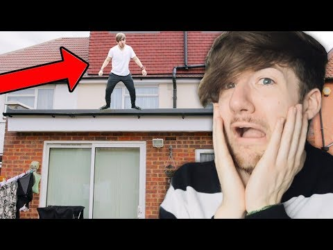 I DARE YOU TO JUMP OFF THE ROOF | Doing Your Dares #1