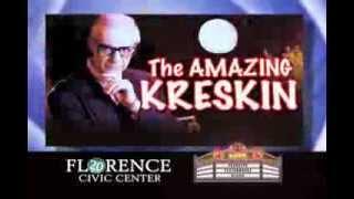 The Amazing Kreskin live in Florence October 11, 2013
