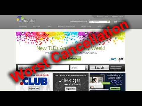 Top 3 Worst Cancellation Web Hosting 2017