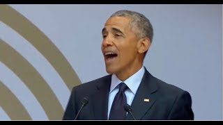 OBAMA CAUGHT PRETENDING TO BE PRESIDENT IN SOUTH AFRICA! BIGGEST MISTAKE EVER!