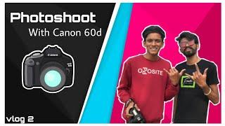 PHOTOSHOOT WITH Canon 60D Sara…
