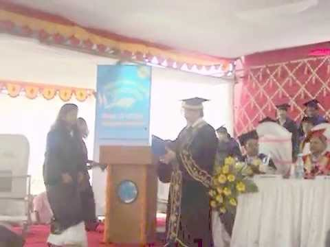 11th convocation in central institute of fisheries education, Mumbai, India