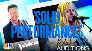"Jordan Matthew Young: Keith Whitley's ""I'm No Stranger to the Rain"" - The Voice Blind Auditions 2021"