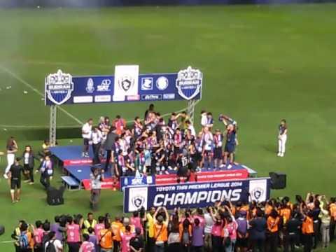 บุรีรัมย์ แชมป์ไทยลีก 2014
