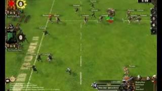 Blood Bowl Humans vs Wood Elves part 1