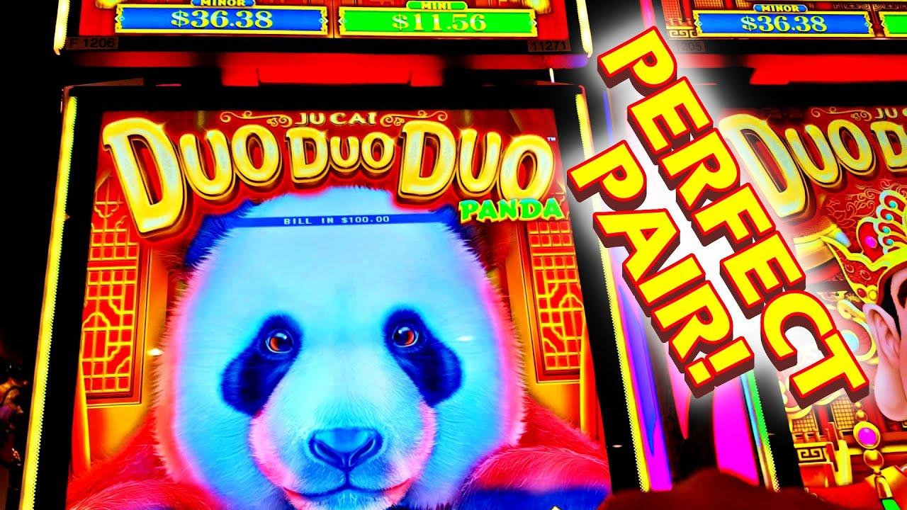 DUN DUN DUN!!! * DUO DUO DUO!!! * THE PERFECT PAIR!! - New Las Vegas Casino Slot Machine Bonus
