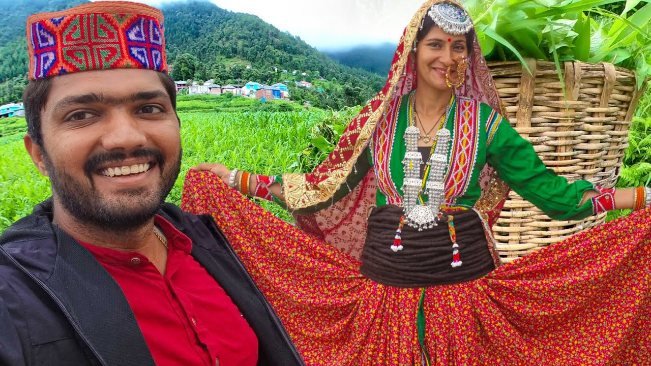 Hp-26 Devbhoomi ❤️ हिमाचल के गाँव  || Traditional himachali village cultural dress