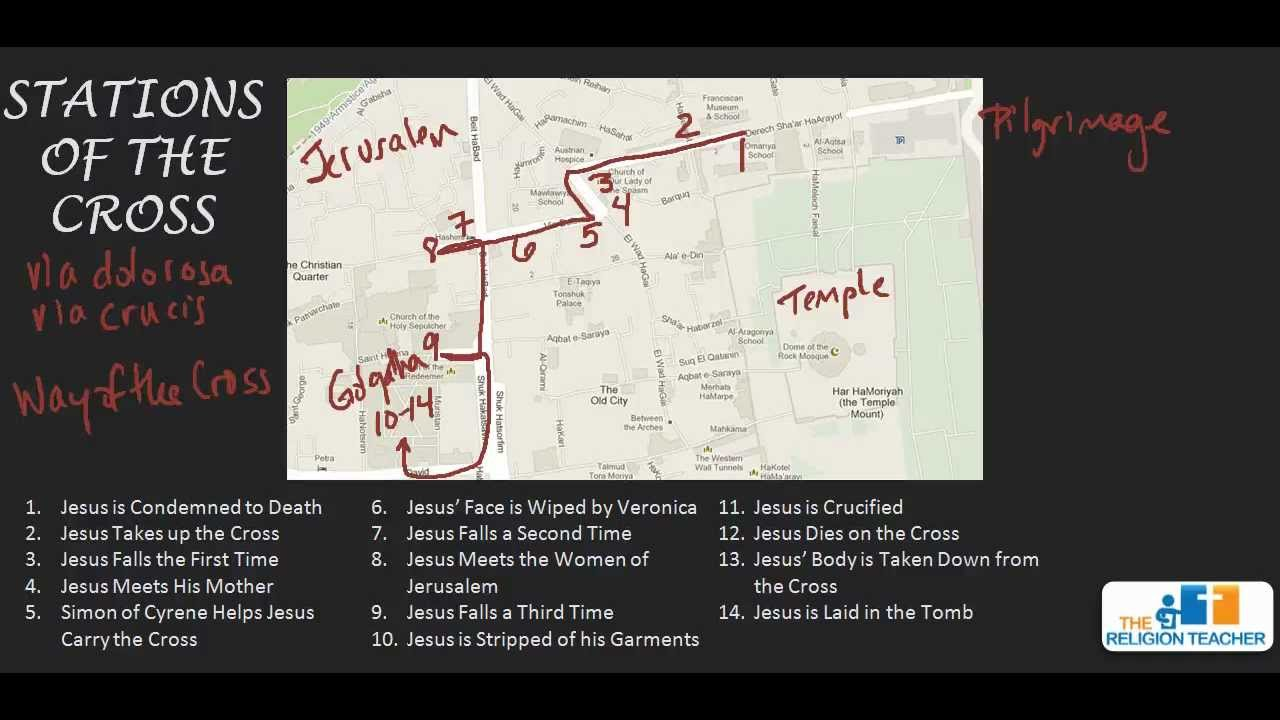 Stations of the Cross Video | The Religion Teacher | Catholic ...