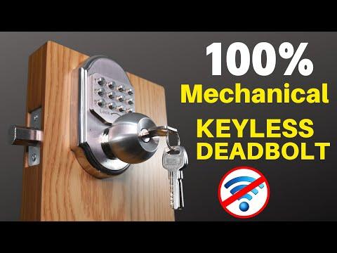 Keyless Door Lock Reviews | Gate Lock Ideas | Elemake Keyless Deadbolt Installation