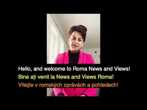 Romano Lav  - Roma News and Views - News Broadcasting Project Pilot - Episode 1