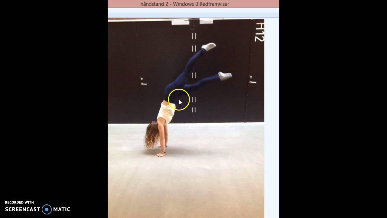 Bevægelsesanalyse af håndstand - Mie og Sofie