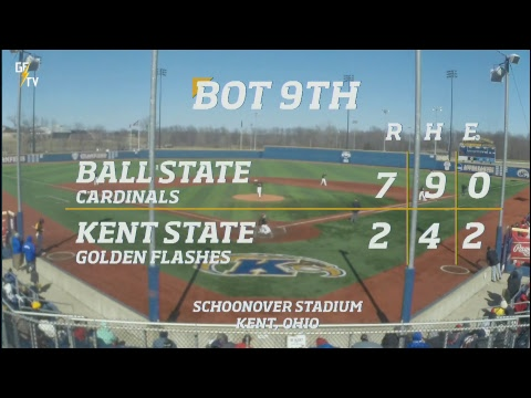 Kent State Baseball vs. Ball State 3.25.18