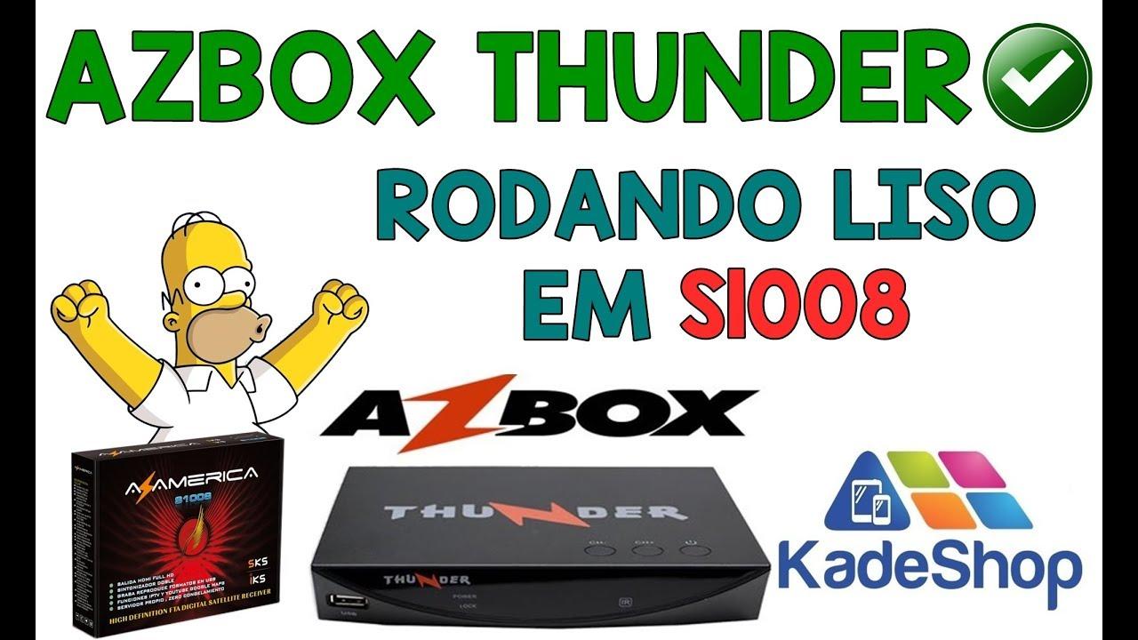 Resultado de imagem para AZBOX THUNDER EM S1008