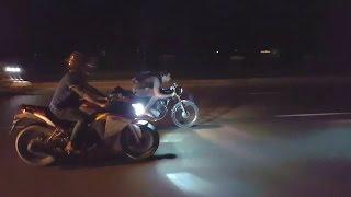honda cg cafe racer with team extreme bikerz bd