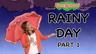 Download Video Rainy Day | Treeschool | PART 1 | Educational Kids Videos MP3 3GP MP4