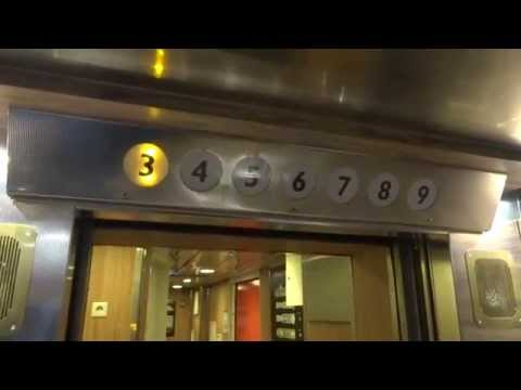 """Dan-Elevator"" Traction Elevator @ Cruiseferry M/S Viking Cinderella"