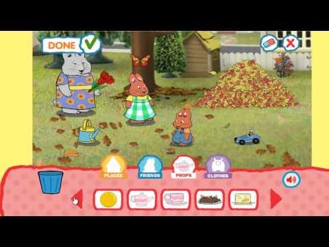 мультик игра Макс и Руби генеральная уборка в доме смотреть онлайн