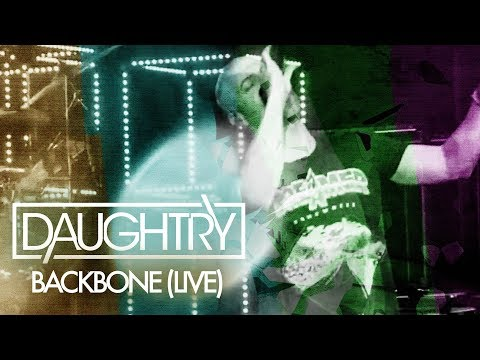 Daughtry - Backbone (Fanmade Live Musicvideo)